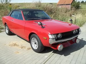 1973 Toyota Celica TA22 1600ST  1 owner from new