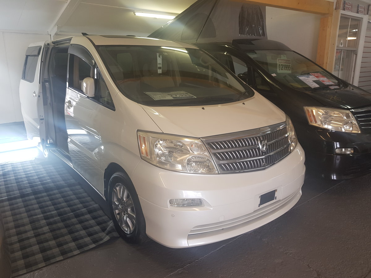 Toyota Alphrad G 2.4 2004 For Sale (picture 1 of 6)