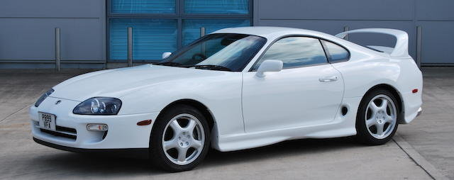 1997 TOYOTA SUPRA 3.0-LITRE TWIN-TURBO COUPÉ For Sale by Auction