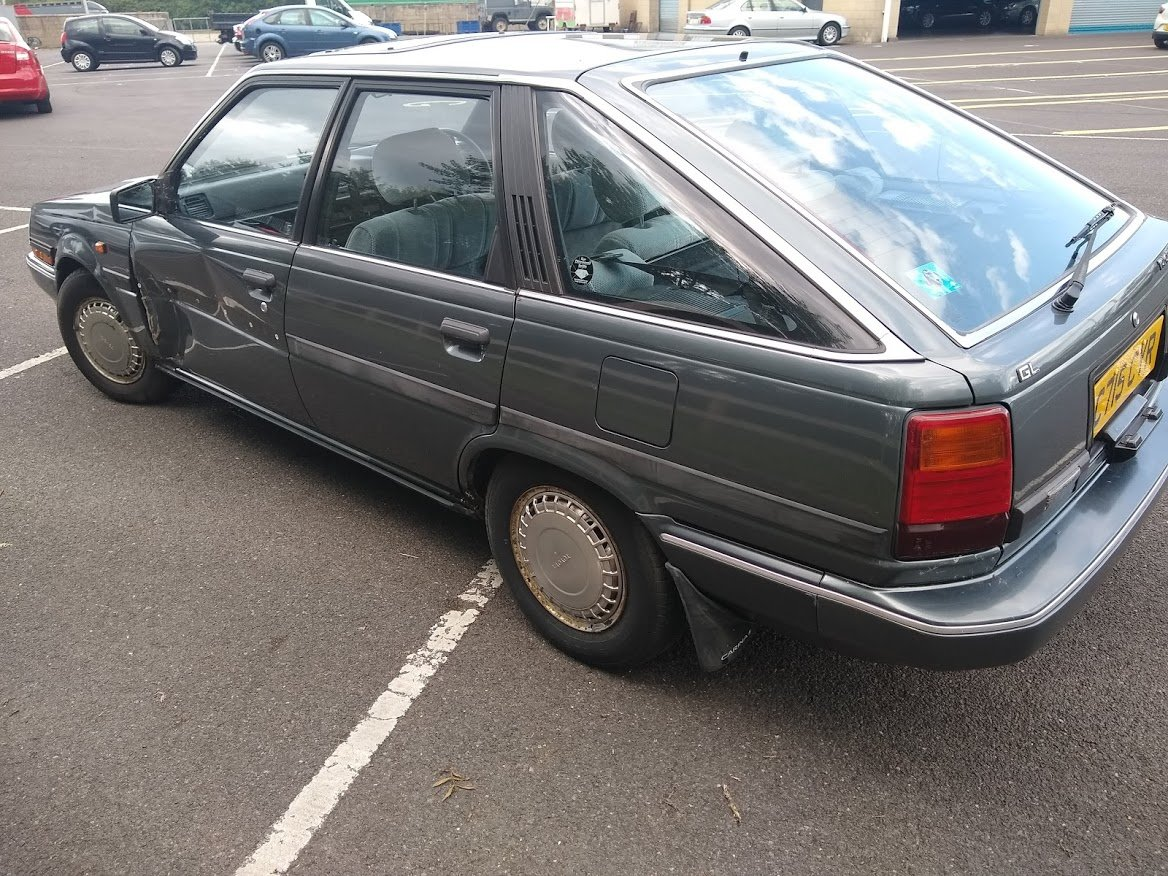 1986 Toyota Carina II Auto - For auction Friday 25th October For Sale by Auction (picture 6 of 6)