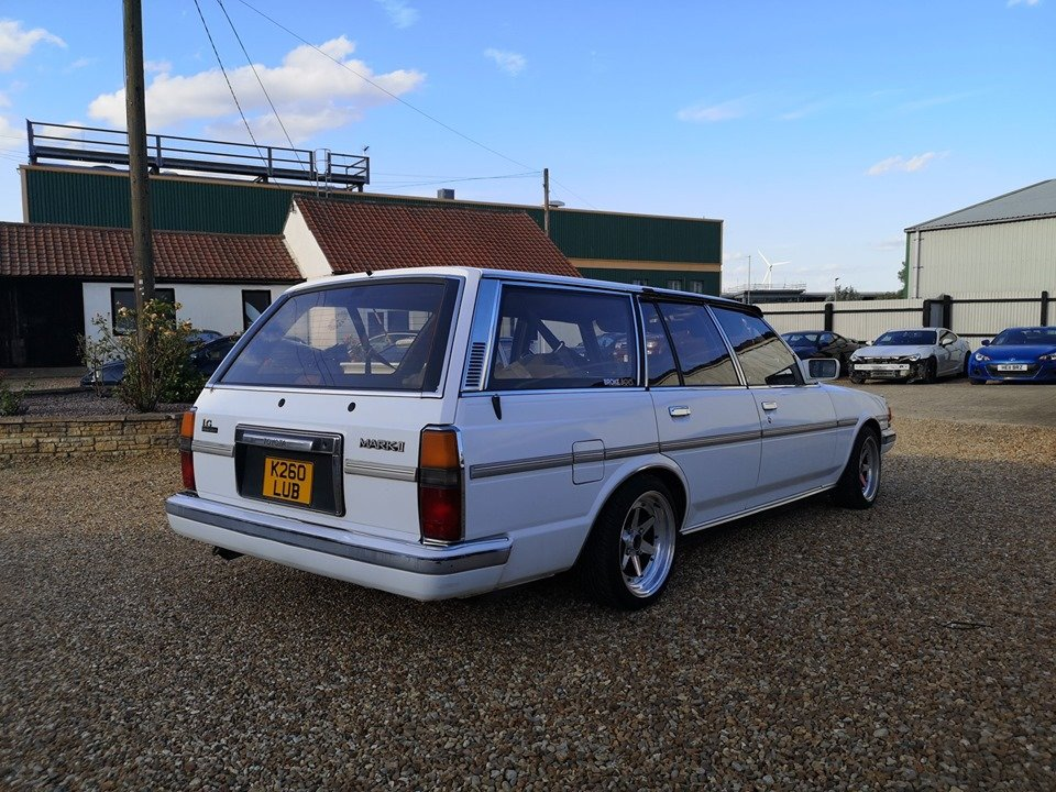 1993 Toyota Mark 2 II Wagon GX70 For Sale (picture 5 of 6)