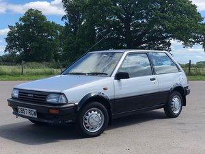 1985 TOYOTA STARLET / 1 OWNER / FSH / IMMACULATE
