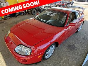 1994 Toyota Supra Turbo Coupe = Auto Clean Red~)Tan $obo