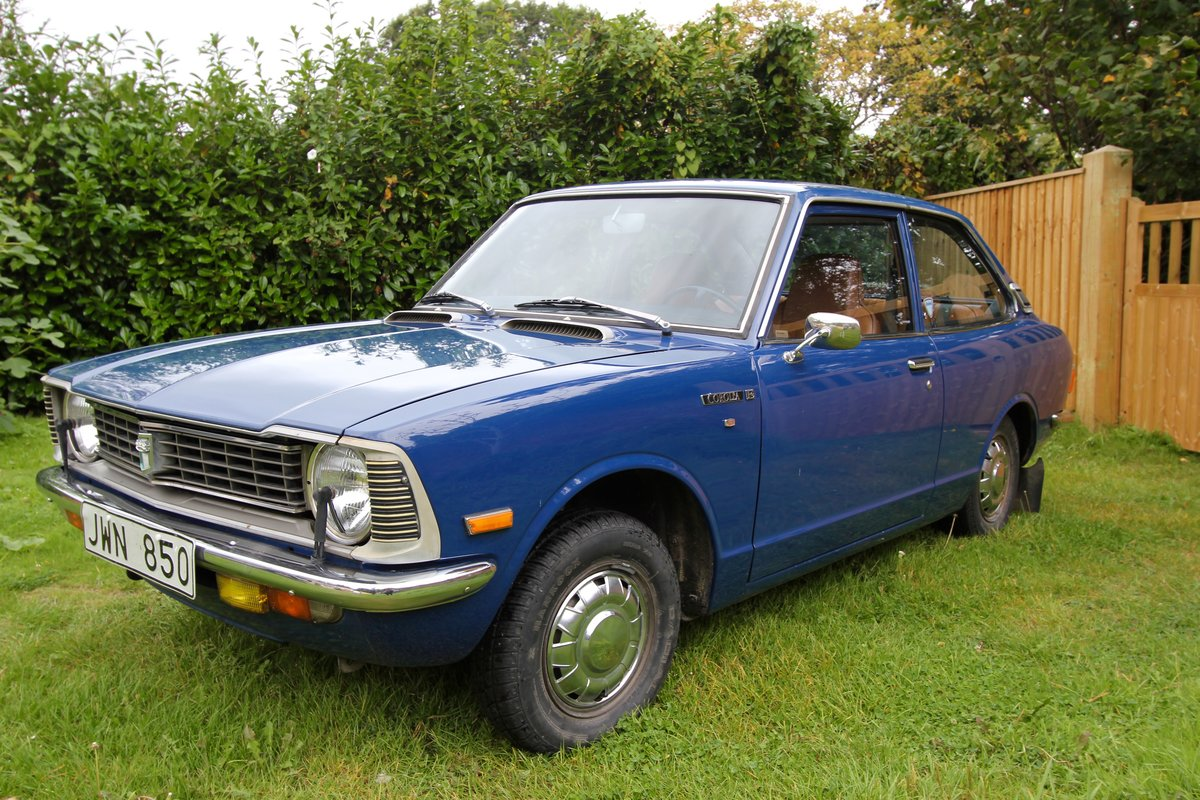 1977 Toyota Corolla - TIME WARP - 50,000 km from new - KE20 For Sale (picture 1 of 5)