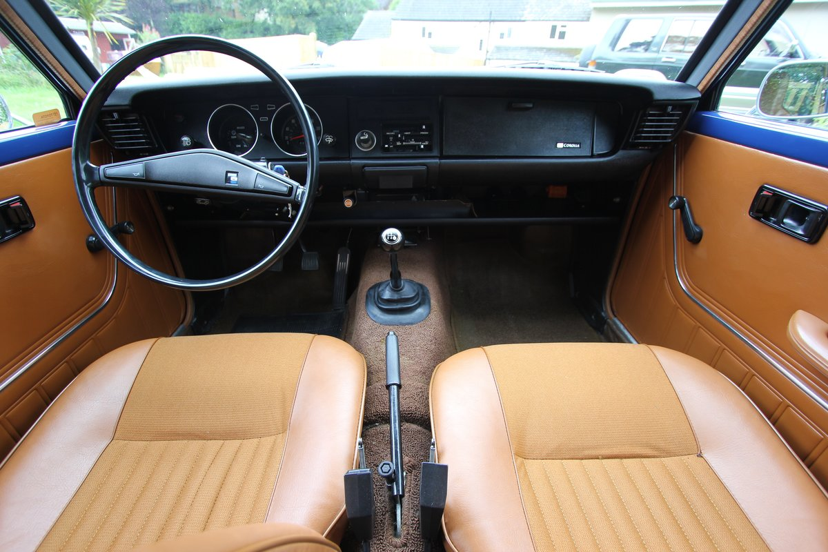 1977 Toyota Corolla - TIME WARP - 50,000 km from new - KE20 For Sale (picture 3 of 5)