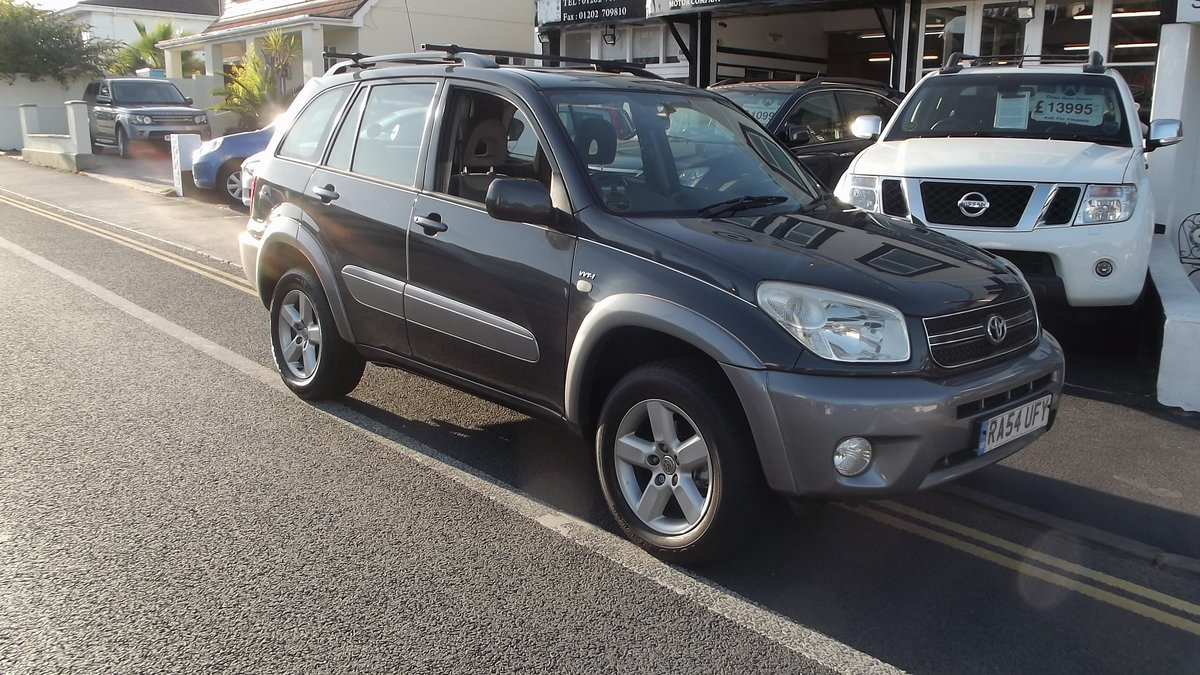2004 54 05MY TOYOTA RAV 4 XT3 VVTi 2.0 AUTO 5 DOOR 4WD ESTATE SOLD (picture 1 of 3)