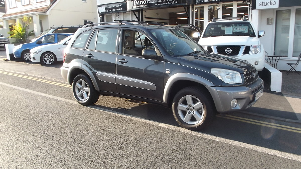 2004 54 05MY TOYOTA RAV 4 XT3 VVTi 2.0 AUTO 5 DOOR 4WD ESTATE SOLD (picture 2 of 3)