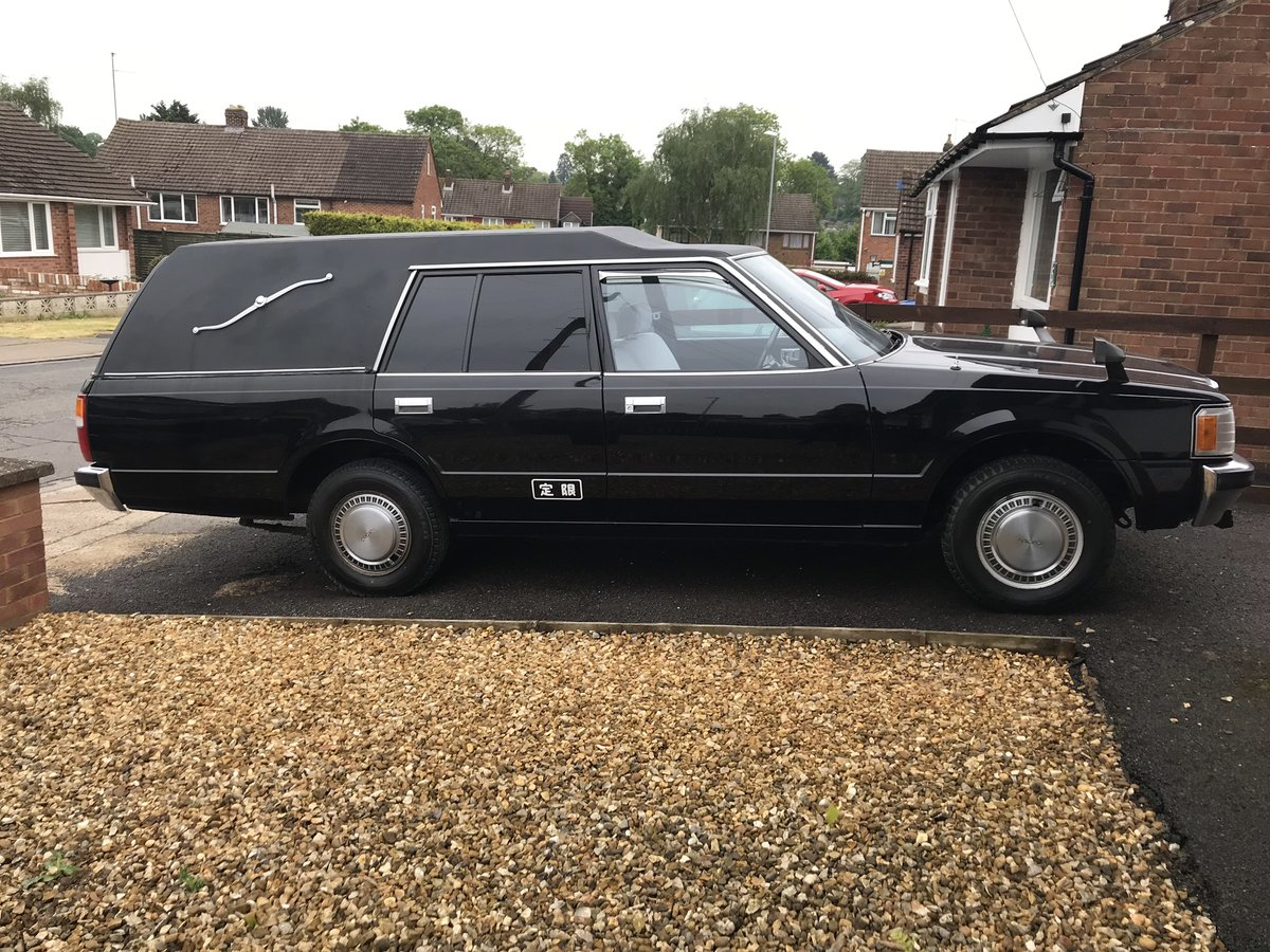 1986 Toyota Crown Hearse SOLD (picture 1 of 6)