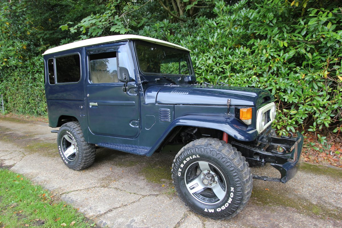 1978 Toyota Land Cruiser - P/S - 4.2 Staight six - FJ40  For Sale (picture 2 of 6)