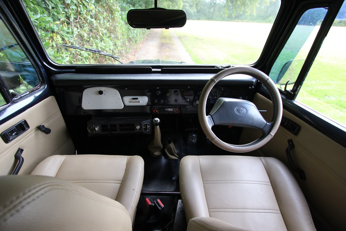 1978 Toyota Land Cruiser - P/S - 4.2 Staight six - FJ40  For Sale (picture 5 of 6)