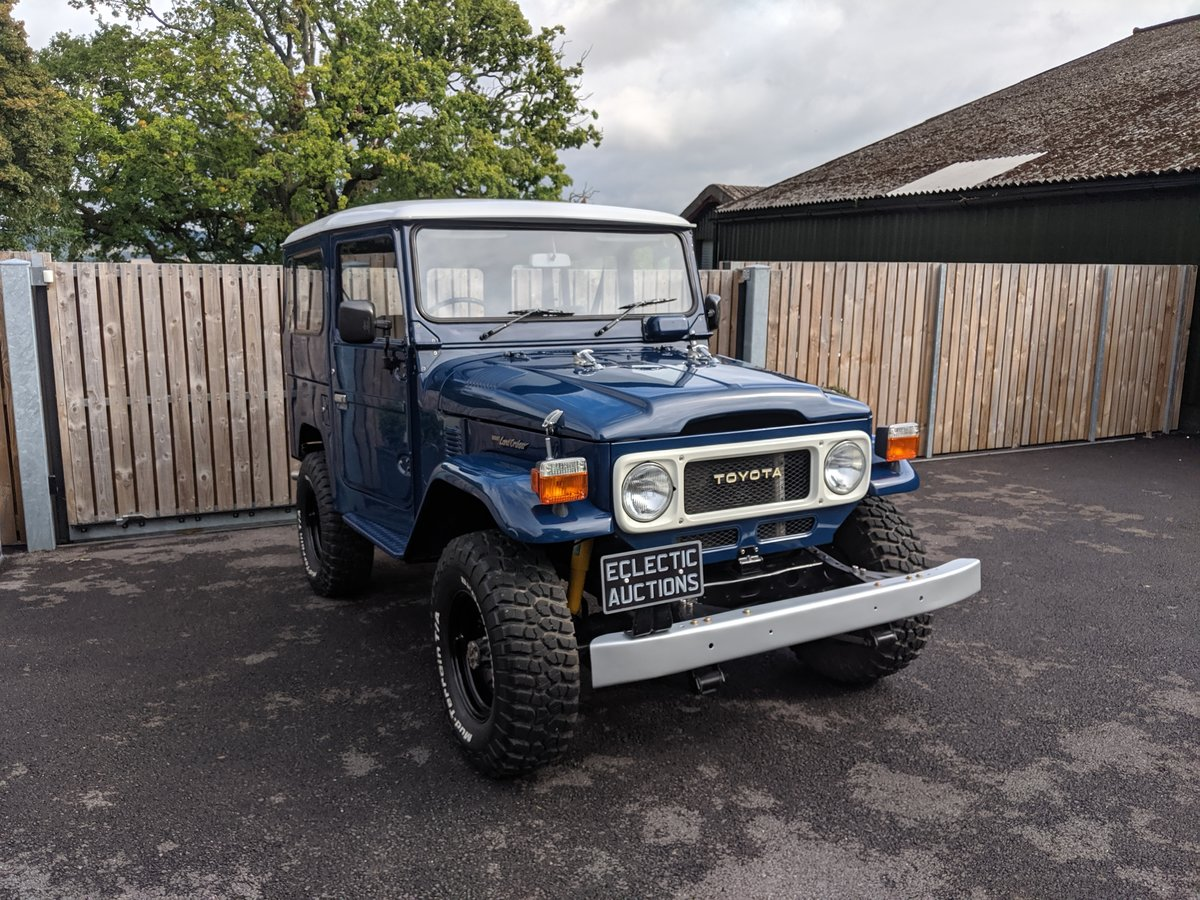 RHD 1981 Japanese factory Toyota FJ40 Landcruiser For Sale (picture 1 of 6)