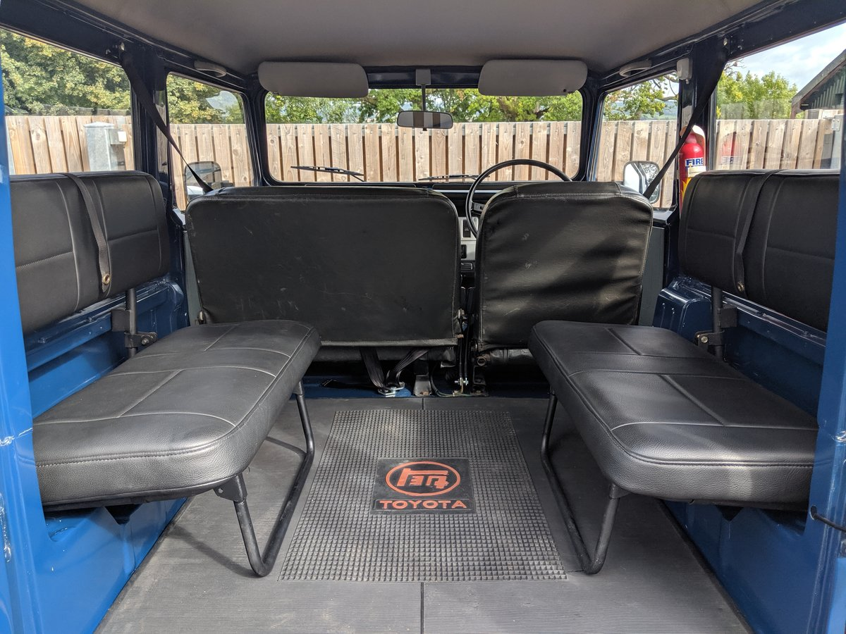 RHD 1981 Japanese factory Toyota FJ40 Landcruiser For Sale (picture 2 of 6)