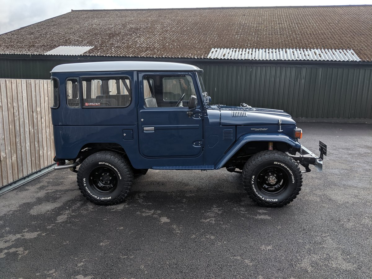 RHD 1981 Japanese factory Toyota FJ40 Landcruiser For Sale (picture 4 of 6)