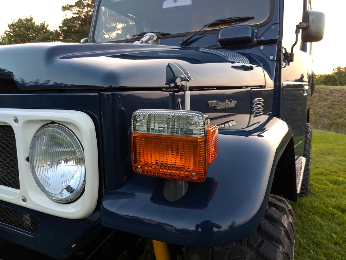 RHD 1981 Japanese factory Toyota FJ40 Landcruiser For Sale (picture 5 of 6)