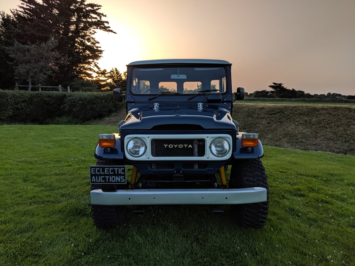 RHD 1981 Japanese factory Toyota FJ40 Landcruiser For Sale (picture 6 of 6)
