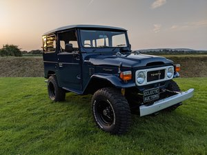 1981 RHD Japanese factory Toyota FJ40 Landcruiser For Sale