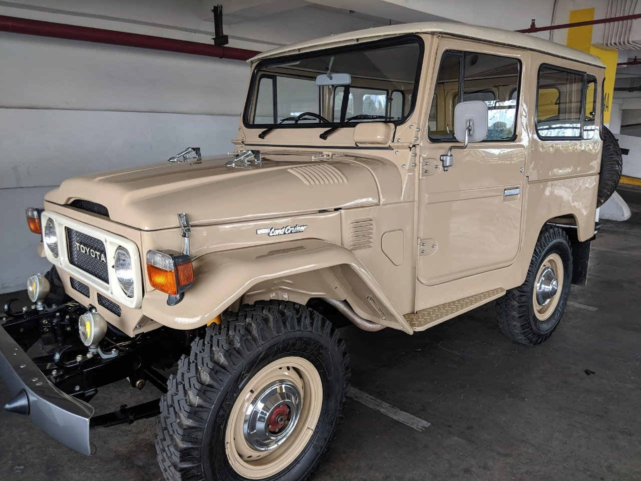 RHD 1980 Japanese factory Toyota FJ40 Land cruiser For Sale (picture 1 of 6)