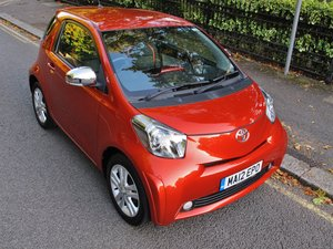 TOYOTA iQ3 1.33 1.3 4 CYL 20k FSH BURNT ORANGE 2012MY MANUAL For Sale