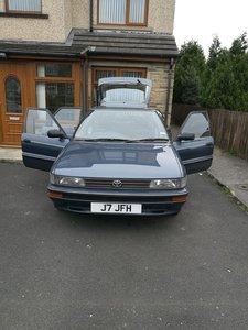 1992 Classic Toyota Corolla 1.3 GL AUTO