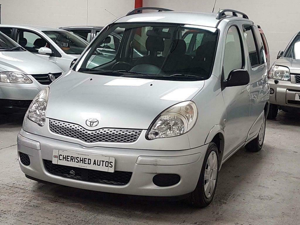 2004 TOYOTA YARIS VERSO 1.3 VVT-i T3* GEN 44,000 MLS* AUTOMATIC For Sale (picture 1 of 6)