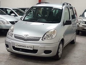 2004 TOYOTA YARIS VERSO 1.3 VVT-i T3* GEN 44,000 MLS* AUTOMATIC For Sale