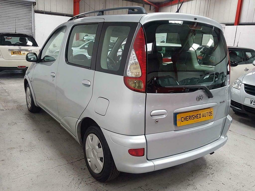 2004 TOYOTA YARIS VERSO 1.3 VVT-i T3* GEN 44,000 MLS* AUTOMATIC For Sale (picture 2 of 6)