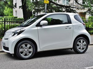 TOYOTA iQ2 iQ 2 AUTOMATIC 2013MY - PEARL WHITE - 12200m FSH  For Sale