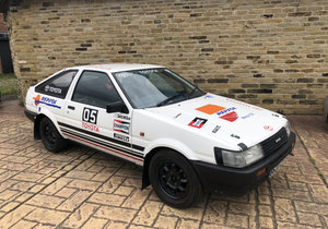 1985 Toyota Corolla AE86 1.6 GT Twin-can Rally Car For Sale