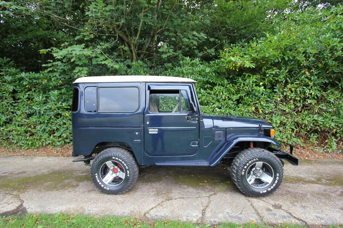 1978 Toyota Land Cruiser - P/S - 4.2 Staight six - FJ40  For Sale (picture 1 of 6)