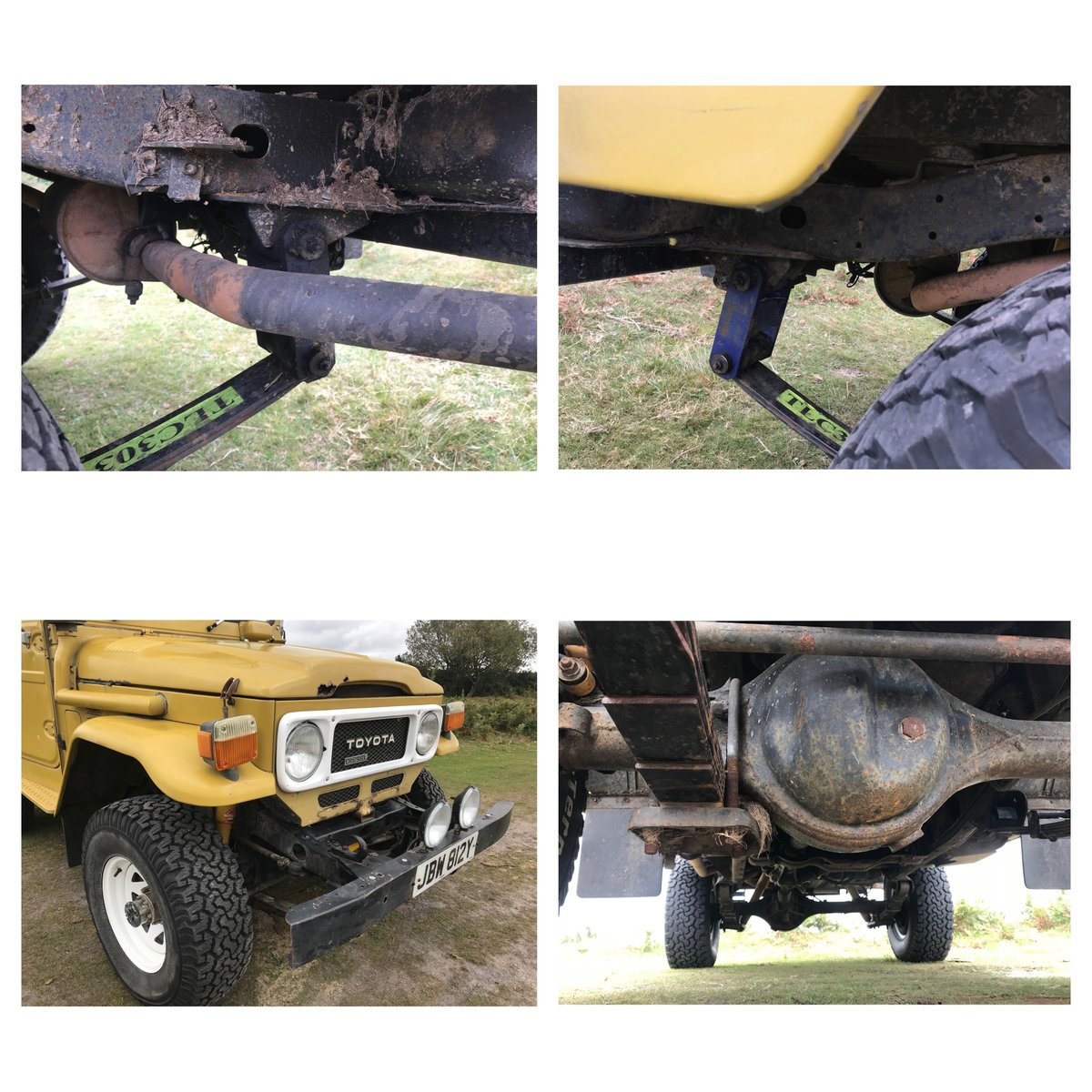 1983 Toyota Land Cruiser BJ42  For Sale (picture 4 of 6)