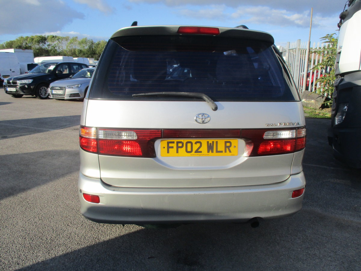 2002 DIESEL SUV 8 SEAT WITH TWIN SLIDING SIDE DOORS LONG MOT For Sale (picture 2 of 6)
