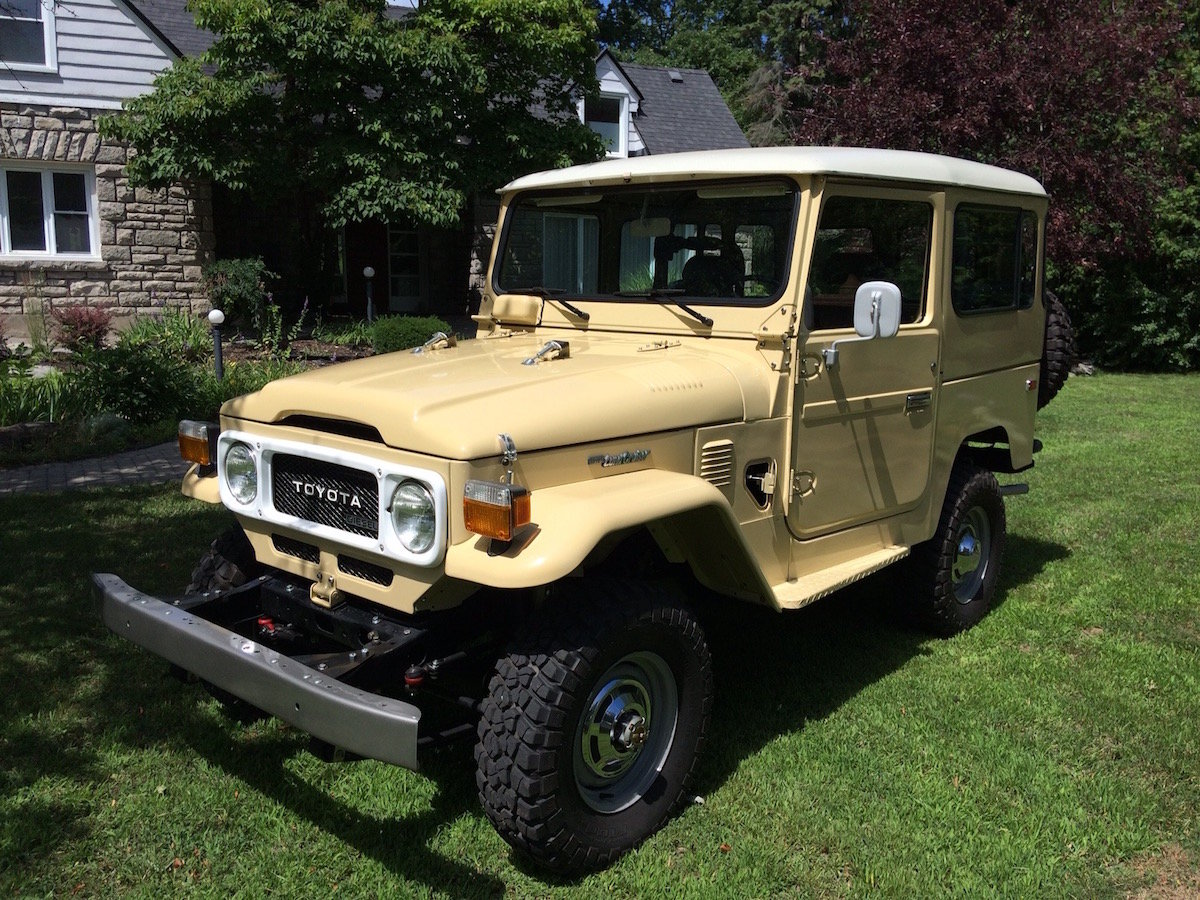 1981 Toyota Land Cruiser BJ42 For Sale (picture 1 of 6)