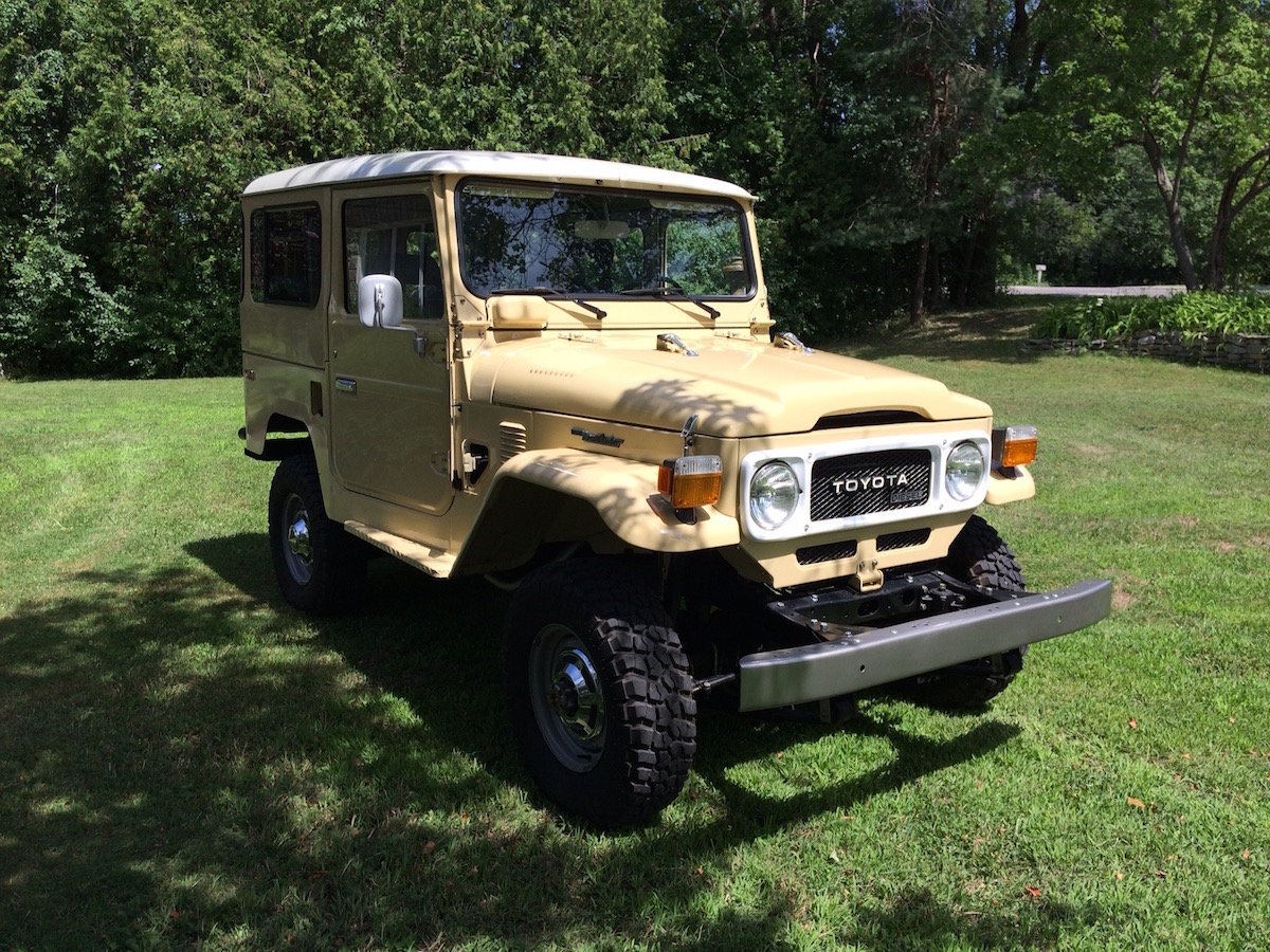 1981 Toyota Land Cruiser BJ42 For Sale (picture 2 of 6)