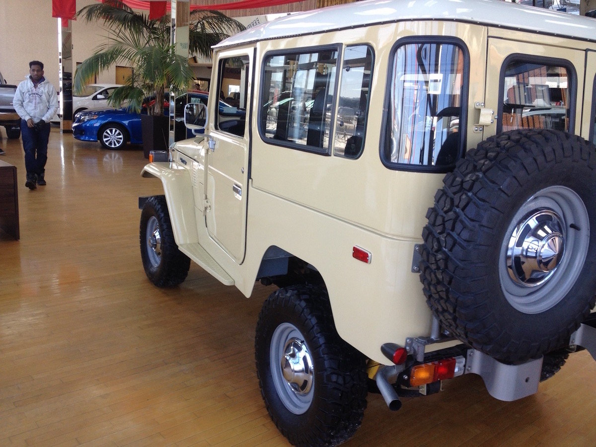 1981 Toyota Land Cruiser BJ42 For Sale (picture 3 of 6)