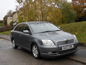 2003 Toyota Avensis 1.8 T3X 5DR New Shape 12 Month Mot SOLD
