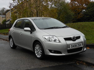 2008 Toyota Auris 2.0 D4-D T3 5DR One Former Keeper SOLD