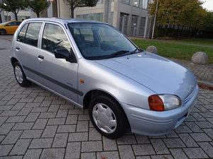 1999 Starlet 1.3 solida auto ++ just 4k miles from new! For Sale