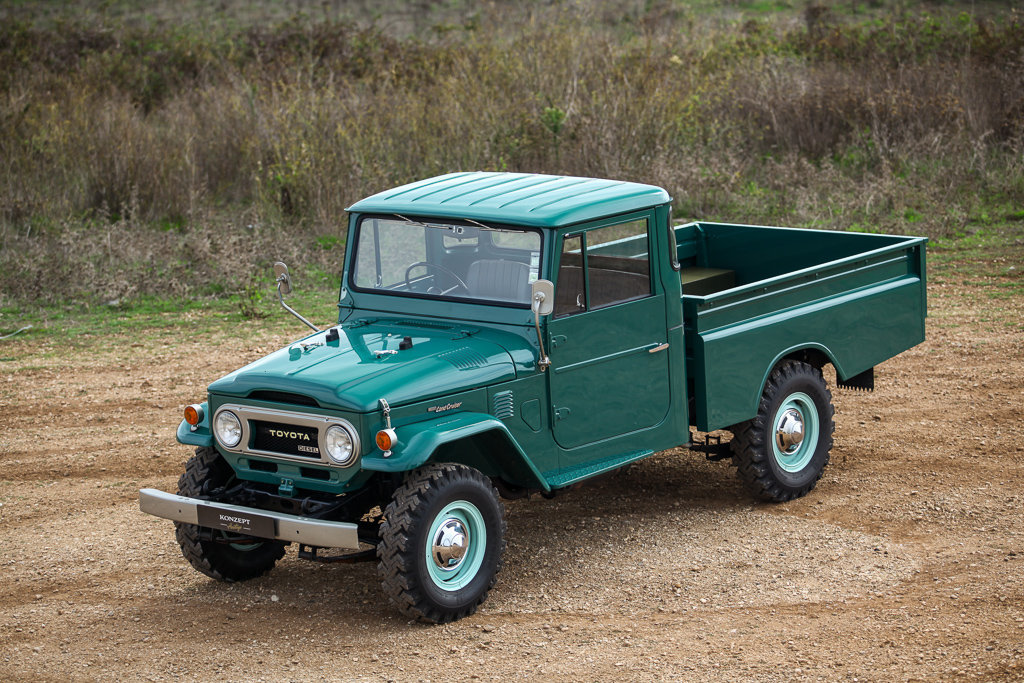 1974 Land Cruiser HJ45 truck RHD For Sale (picture 1 of 6)