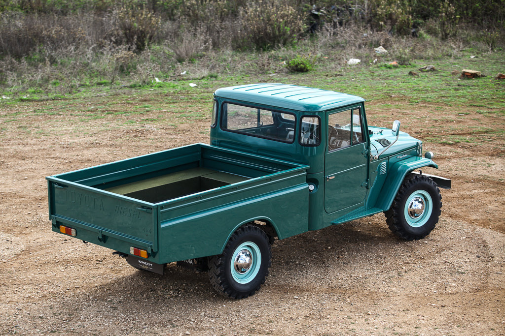 1974 Land Cruiser HJ45 truck RHD For Sale (picture 2 of 6)