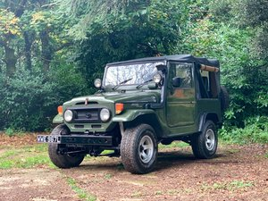 1973 Toyota Land cruiser - FJ40 - EX-Military - 4.2 - Canvas top