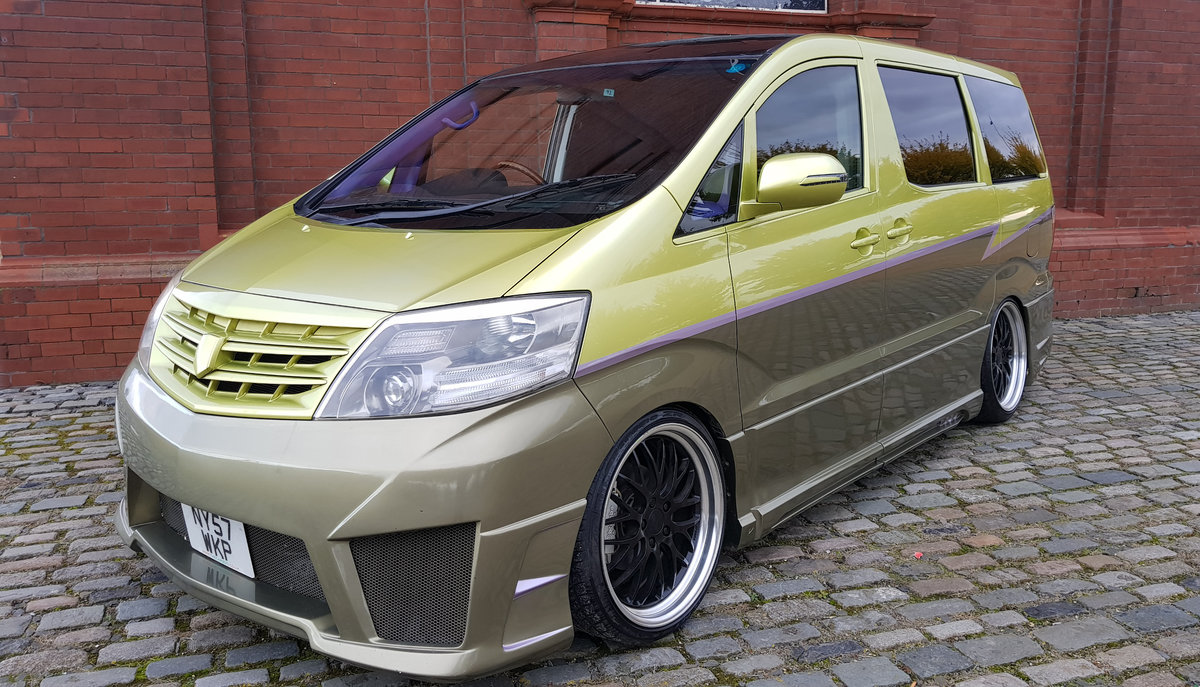 2007 TOYOTA ALPHARD CUSTOM WALD ART MUGEN BODY STYLE 2.4 AUTO For Sale (picture 1 of 6)