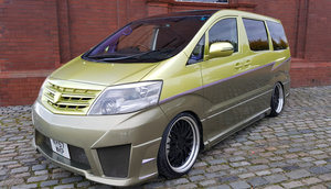 2007 TOYOTA ALPHARD CUSTOM WALD ART MUGEN BODY STYLE 2.4 AUTO For Sale
