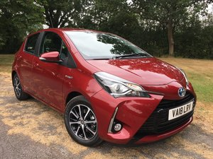 2018 Toyota Yaris 1.5 Icon Tech Auto Navigation Hybrid For Sale