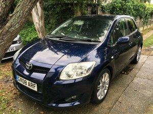 2008 Toyota auris 1.6 sr vvti 5dr blue 63k sh