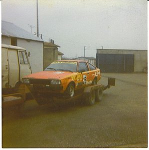 1980 Toyota Corolla coupé racing car