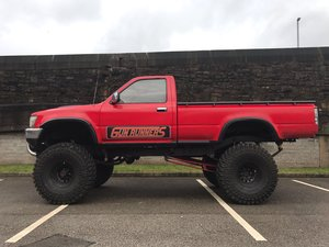 1990 TOYOTA HILUX V8 MONSTER TRUCK PROM NIGHT £6995 ONO PX BIKES For Sale