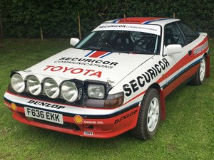 1988 Toyota Celica GT4 Rally Car