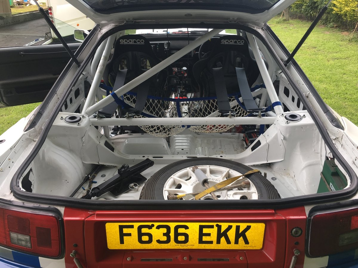 1988 Toyota Celica GT4 Rally Car For Sale (picture 5 of 6)