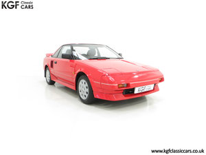 1990 An Immaculate Mk1b Toyota MR2 W10, Wife and Husband Owned SOLD