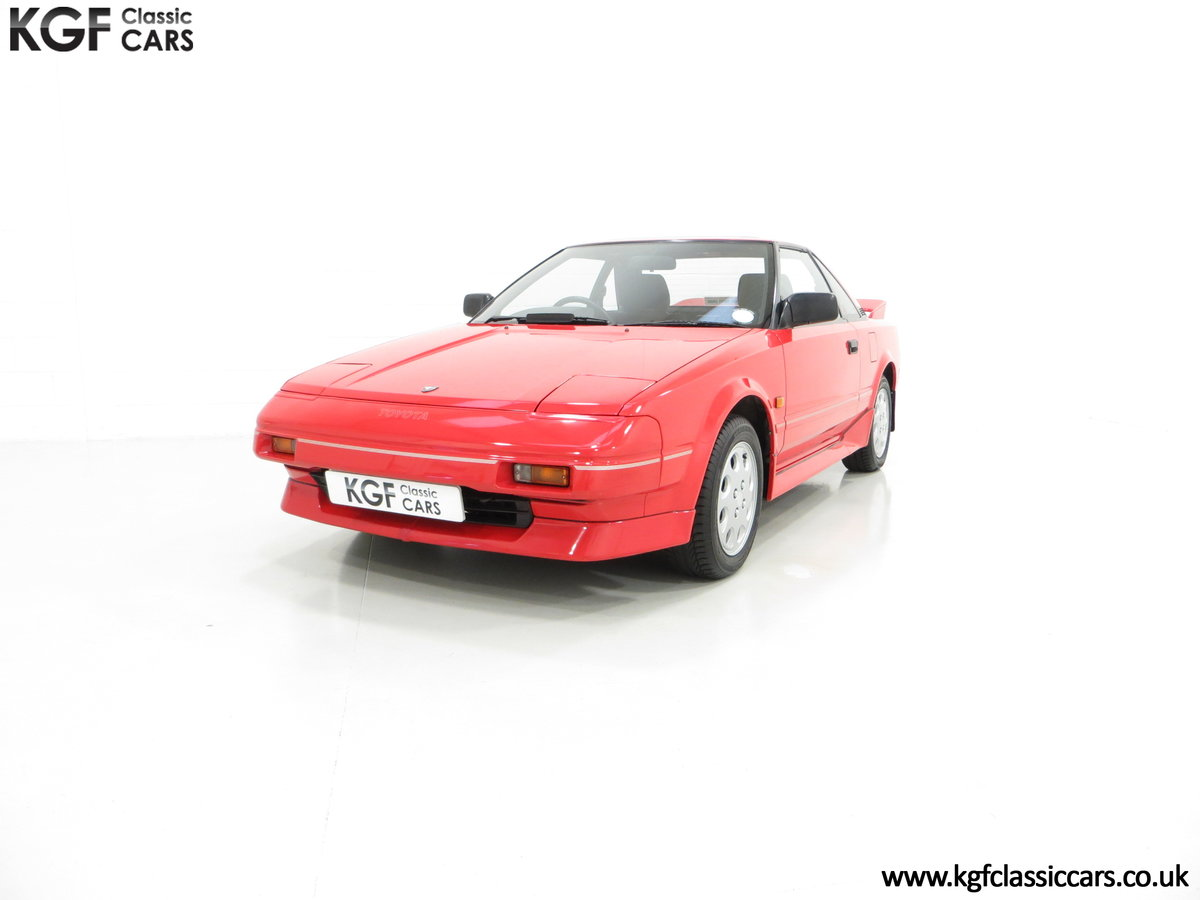 1990 An Immaculate Mk1b Toyota MR2 W10, Wife and Husband Owned SOLD (picture 2 of 6)